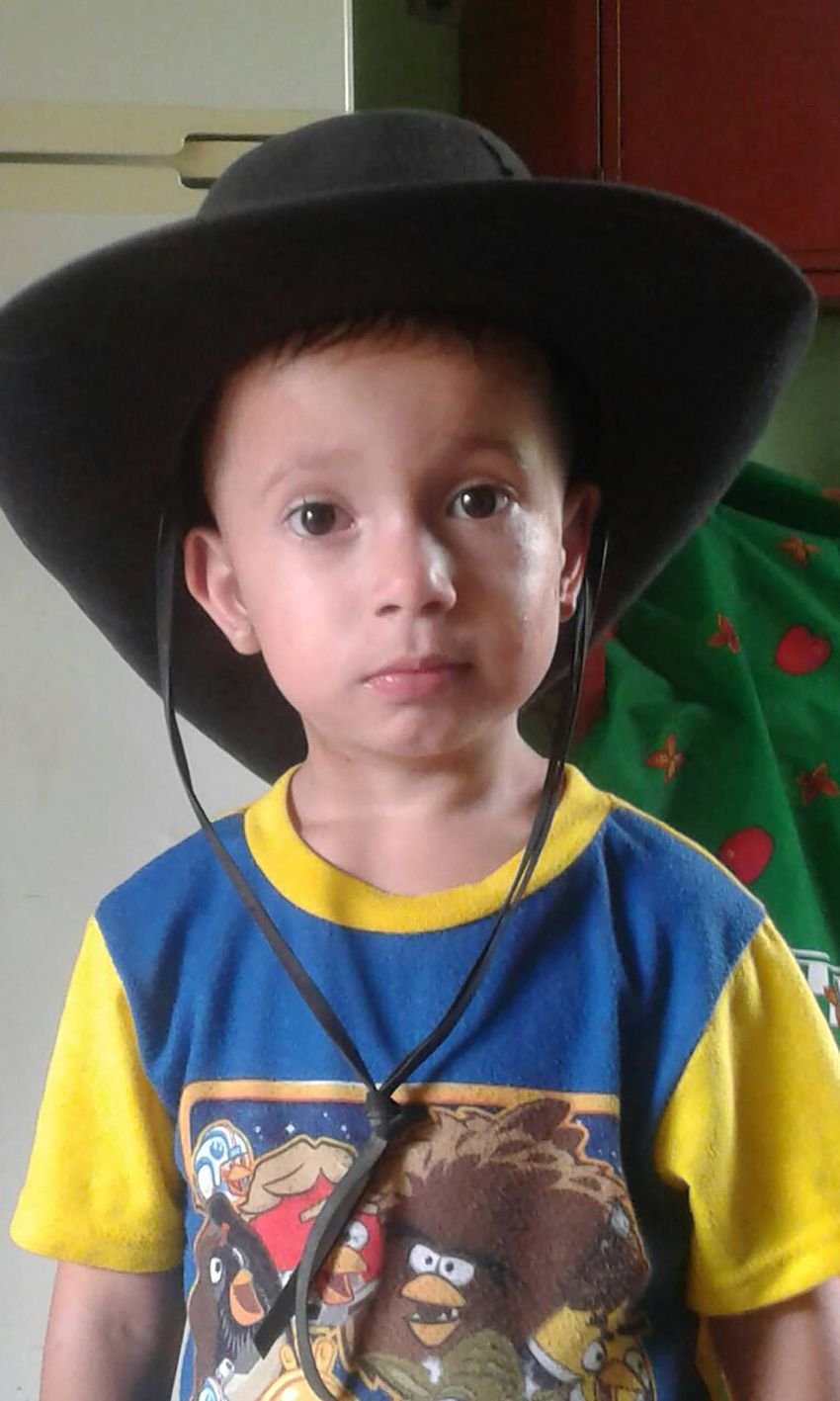 Brayan, now four, was separated from his father in South Texas. He's currently in a temporary foster care agency in New Yo...