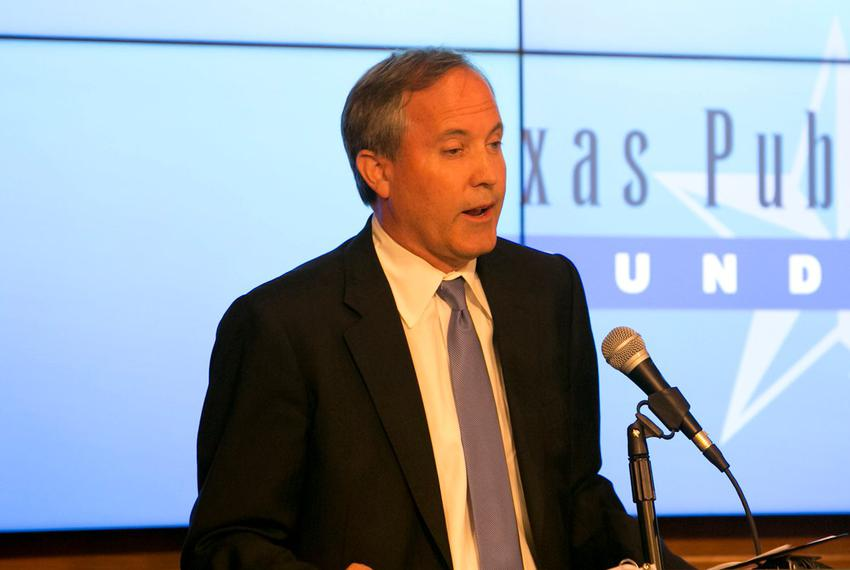 TX Attorney General Ken Paxton, speaks at event hosted by the Texas Public Policy Foundation regarding impact of the EPA's C…