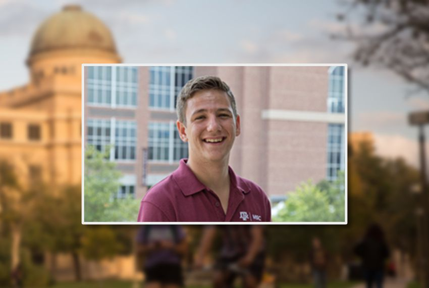 Bobby Brooks, the student body president-elect at Texas A&M University, College Station.