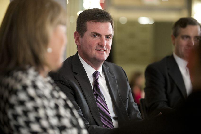 State Sen. Brandon Creighton, R-Conroe, at a Texas Tribune event in 2014.