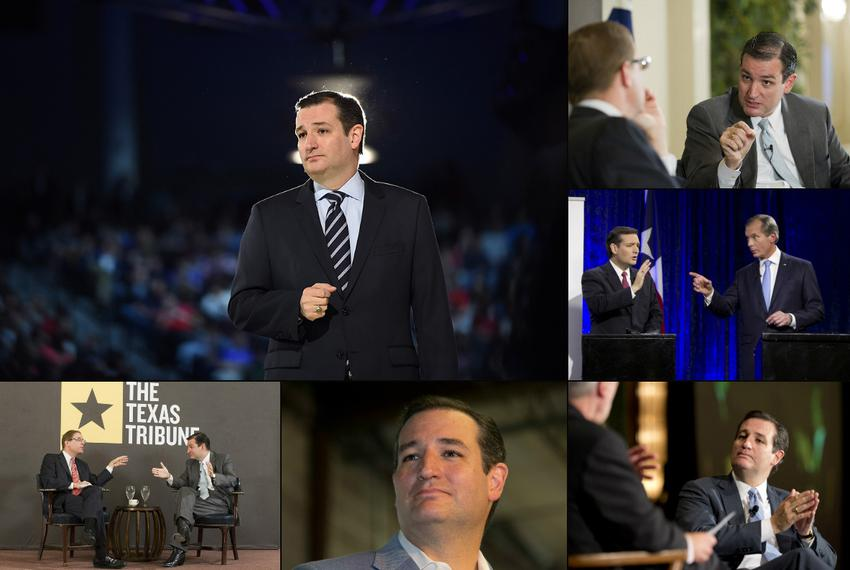 U.S. Sen. Ted Cruz, who announced he's running for president on March 23rd, 2015.
