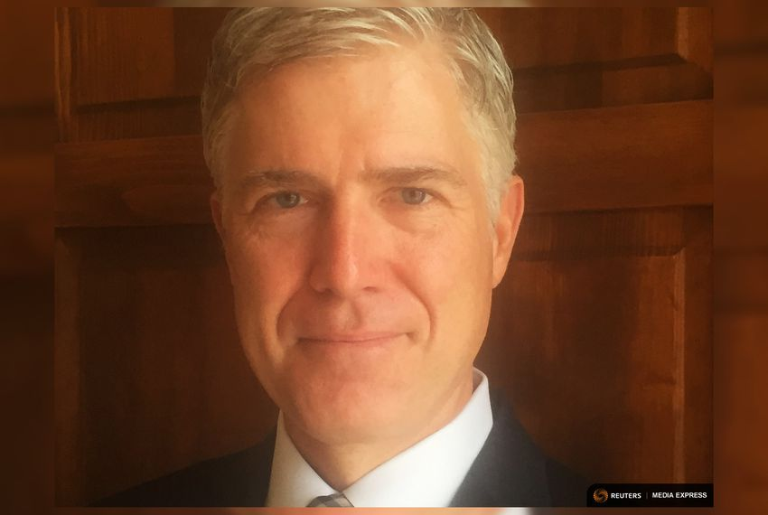 Neil Gorsuch, a judge on the Denver-based 10th U.S. Circuit Court of Appeals.