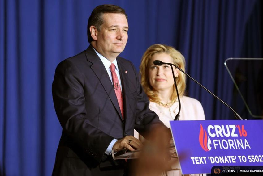 Republican U.S. presidential candidate Ted Cruz announces that he is dropping out of the 2016 race for the Republican presid…