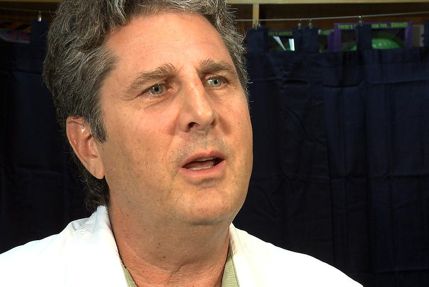 Former Texas Tech football coach, Mike Leach - September 15, 2011.
