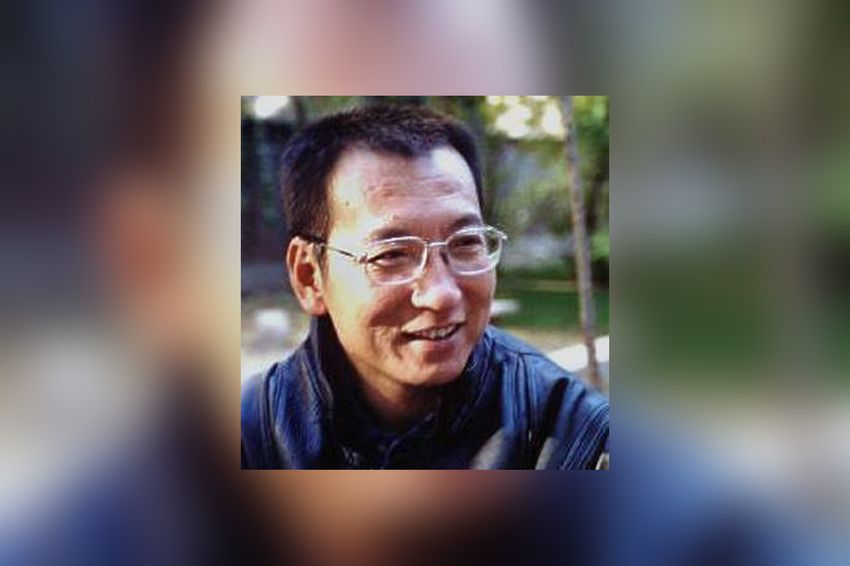 Human rights activist and Nobel Peace Prize laureate Liu Xiaobo in 2010.