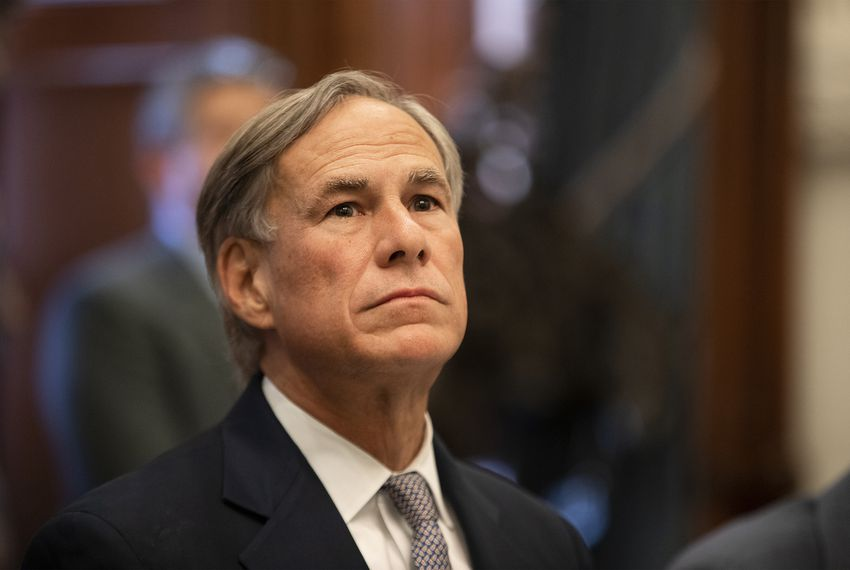 Gov. Greg Abbott wrote in a letter that the state and nonprofit organizations should concentrate resources on people already in Texas.