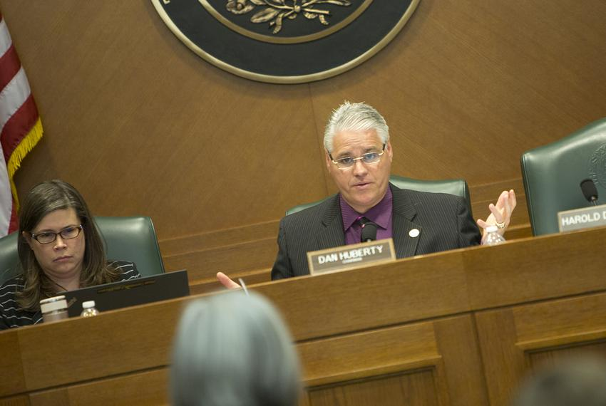 State Rep. Dan Huberty, R-Houston, at a House Education Committee meeting on March 7, 2017.