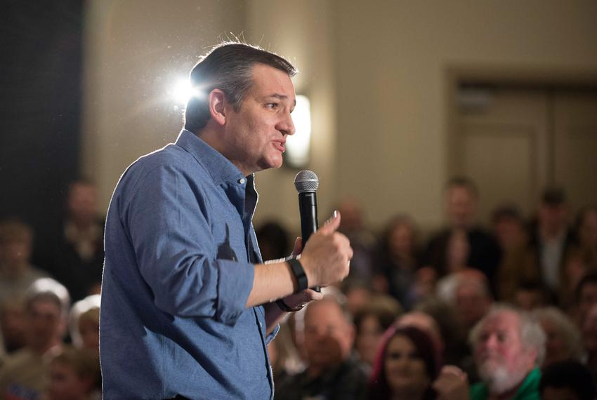 U.S. Sen. Ted Cruz fired up a crowd of evangelicals in West Des Moines, Iowa, on Jan. 27, 2016, ahead of the state's Feb. 1 …