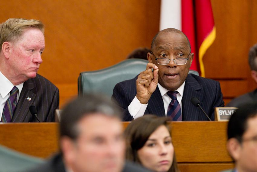 February 6th, 2013 House appropriations committee hearing with Rep. Sylvester Turner D-Houston and Rep. Jim Pitts R-Waxahach…