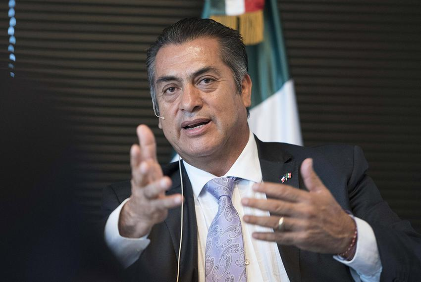 """Jaime Heliodoro Rodríguez Calderón, sometimes referred to by his nickname """"El Bronco,"""" is the governor of the northern Mexic…"""