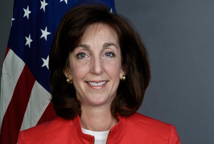 Newly confirmed U.S. Ambassador to Mexico Roberta Jacobson