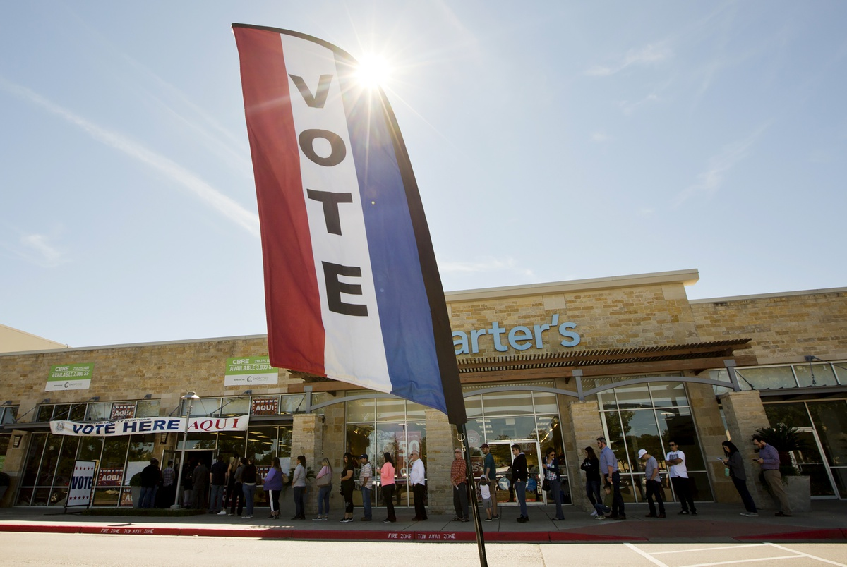 Early voting starts Tuesday in Texas. Here's what you need to know.