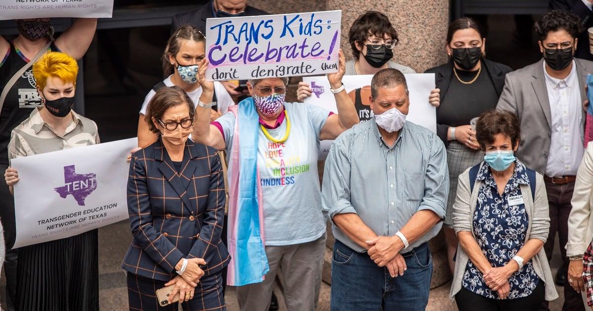 Texas Senate bill restricting transgender students