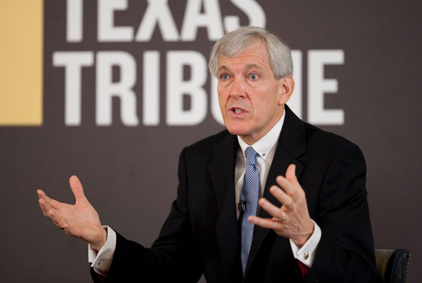 Dallas Mayor Tom Leppert talks Texas at the Triblive conversation series at the Austin Club on October 27th, 2010