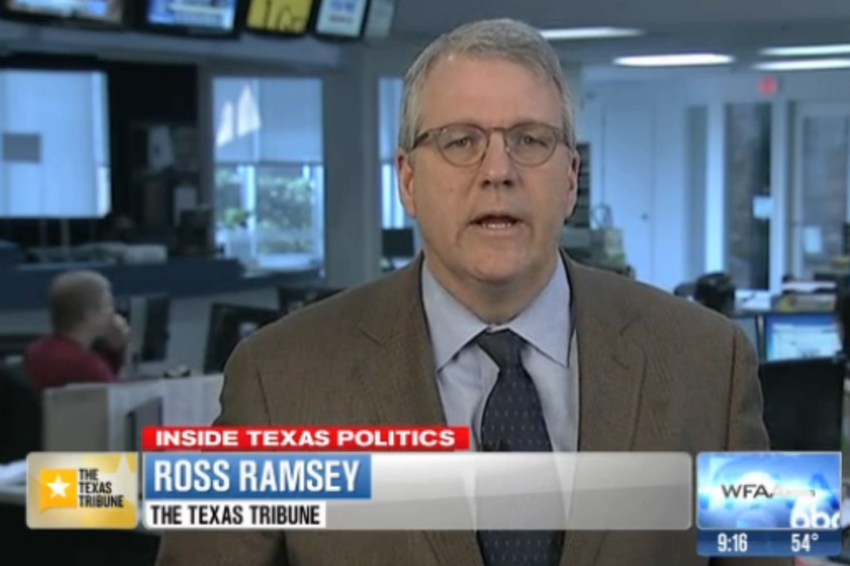 The Texas Tribune's Ross Ramsey on WFAA's Inside Texas Politics, Jan. 26, 2014.