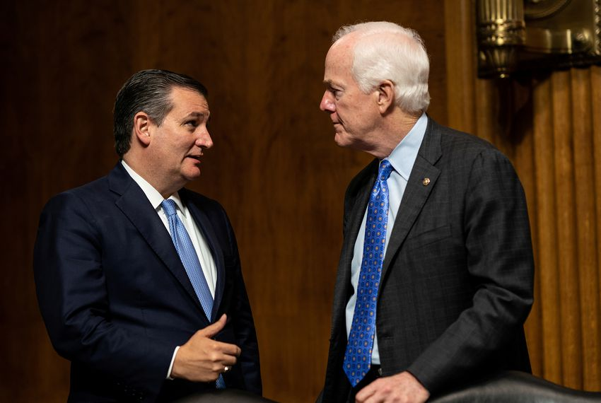 U.S. Sens. Ted Cruz and John Cornyn have been vocal defenders of President Donald Trump.