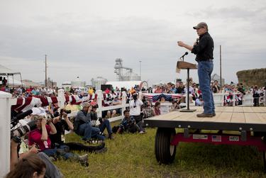 Rick Perry speaks.