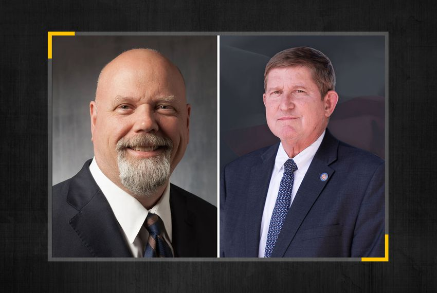 Democrats Mark Watson (left) and Mike Snipes hoped to run for the Texas Court of Criminal Appeals Place 6.