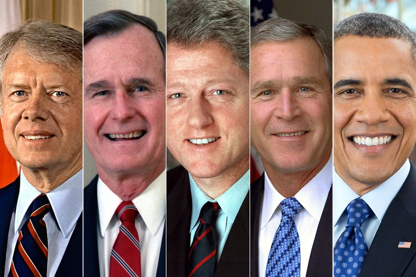 All five former U.S. presidents to unite in Texas this month