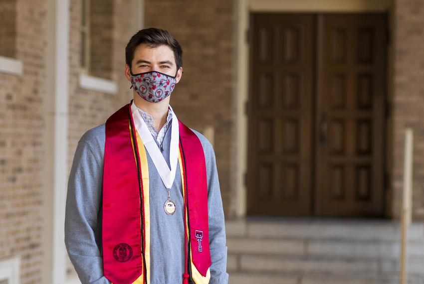 Klay Davis is a senior animal science major and a member of student government at Texas Tech University. Davis is pictured i…