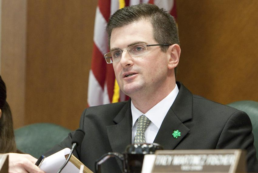 Rep. Brandon Creighton R-Conroe during the State Sovereignty Committee on March 17th ,2011
