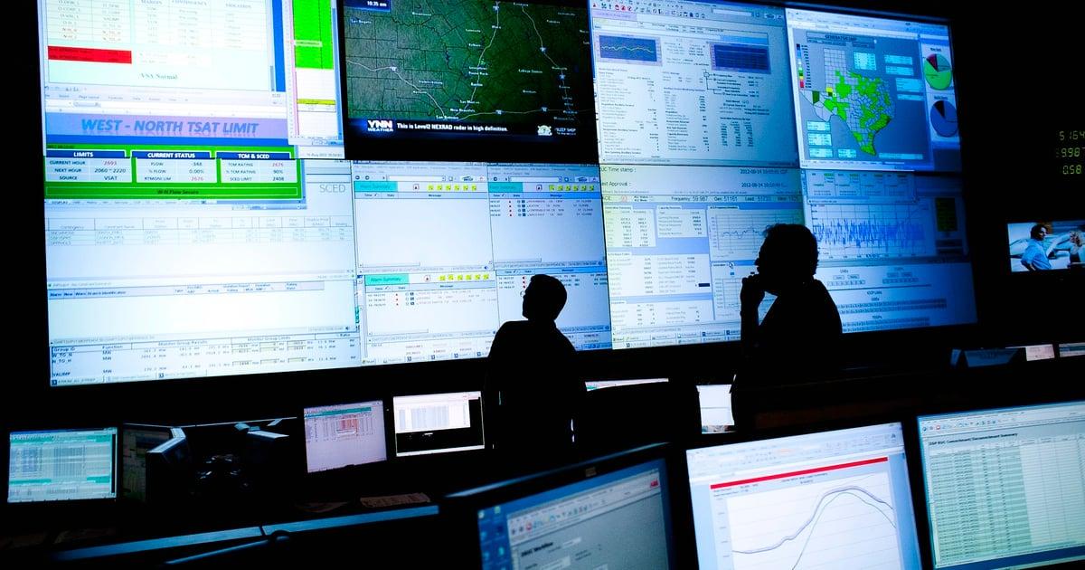 ERCOT Command Center REUTERS TT 01.