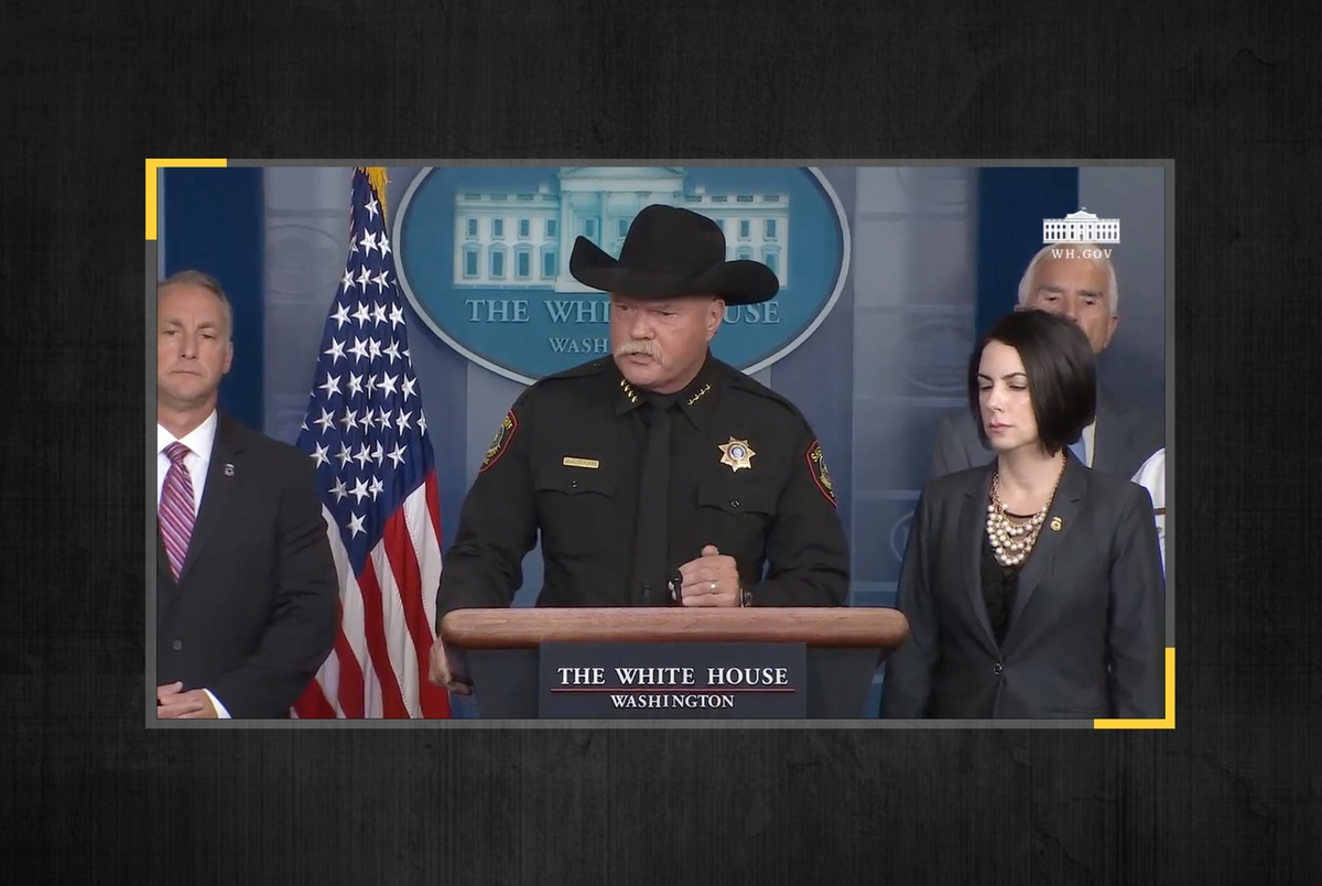 Texas sheriff at White House briefing: If criminal immigrants are r...