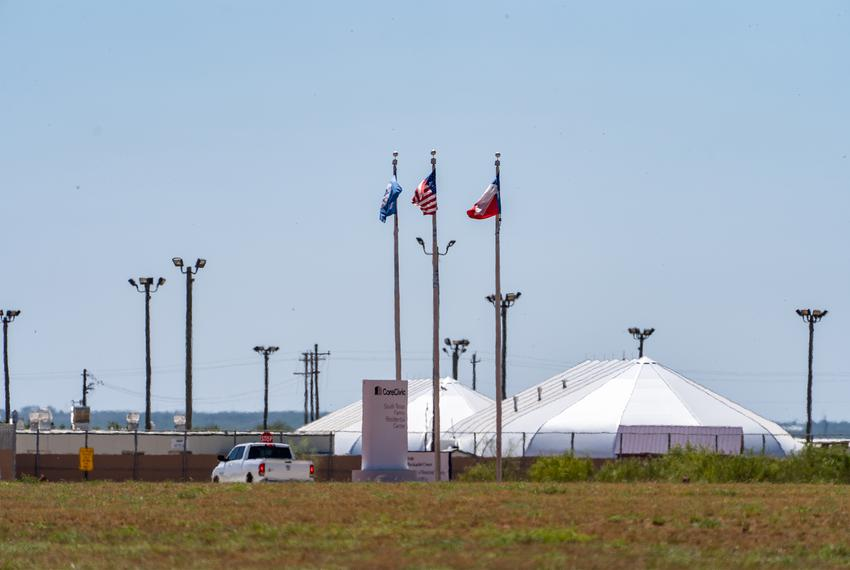South Texas Family Residential Center, an ICE detention center in Dilley.