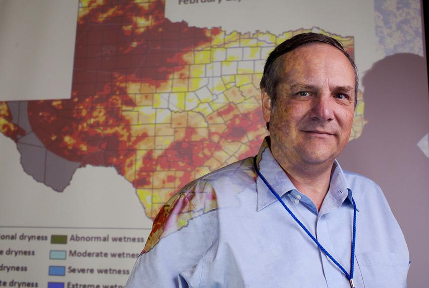 John Nielsen-Gammon, Texas' state climatologist and professor at Texas A&M University, spoke recently at a climate confere...