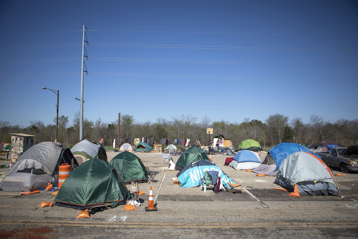 Abbott's state-run camp for the homeless in Austin will be run by nonprofit with new shelter plans