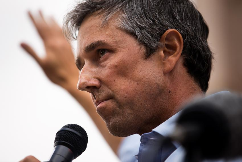 """Former U.S. Rep. Beto O'Rourke, D-El Paso, speaks at """"Texans Rally for Our Voting Rights"""" at the Texas Capitol in Austin on …"""