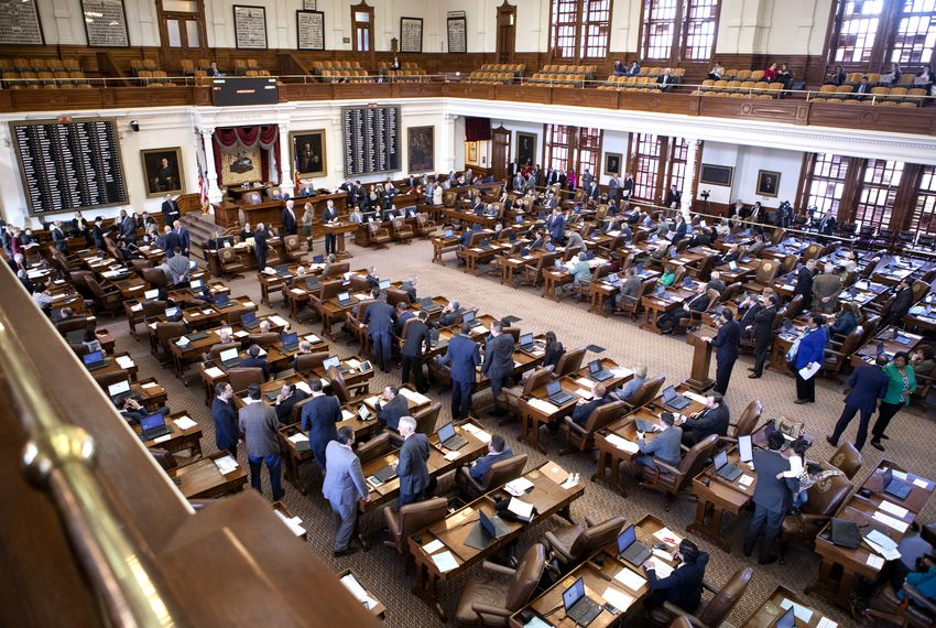The partisan split in the Texas House is narrow enough to give partisans on both sides plenty to scheme about.