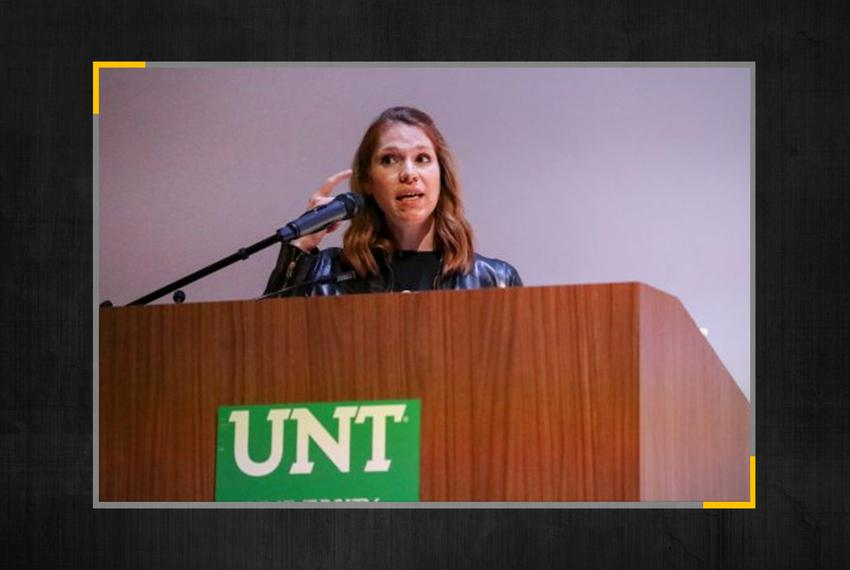 Former University of North Texas System assistant general counsel Caitlin Sewell.