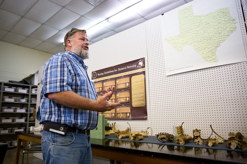 Daniel Westcott, director of the Forensic Anthropology Center at Texas State, talks about current research projects.