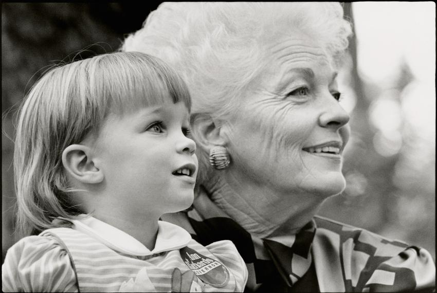 Lily Adams and Ann Richards.