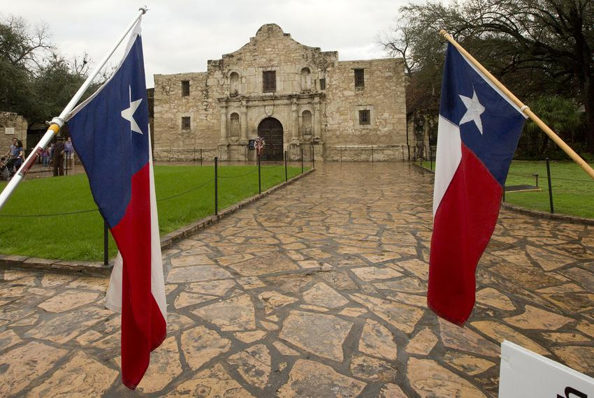The Alamo in San Antonio on Feb. 23, 2018.