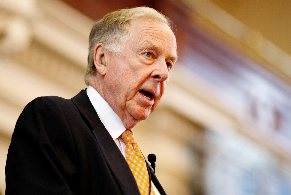 T. Boone Pickens, famed Texas oilman, dies at 91