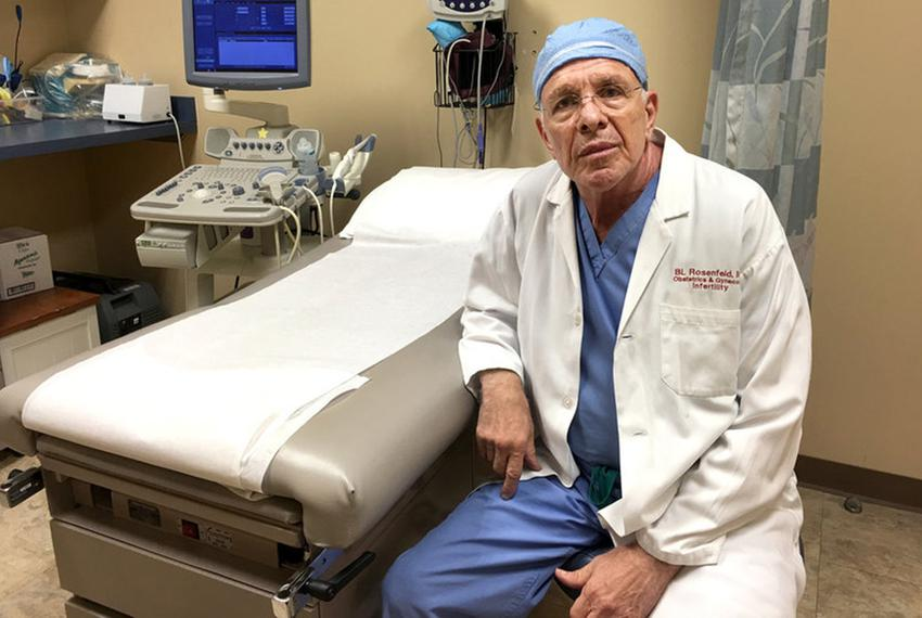 Dr. Bernard Rosenfeld, 74, has not been able to find a successor to lead his abortion practice in Houston. He says younger d…