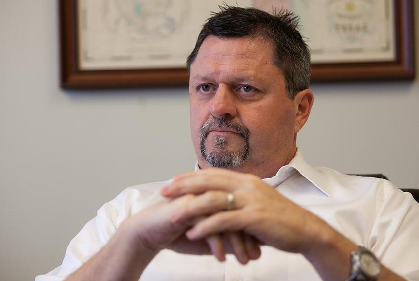 Kyle Frazier, executive director of the Texas Desalination Association