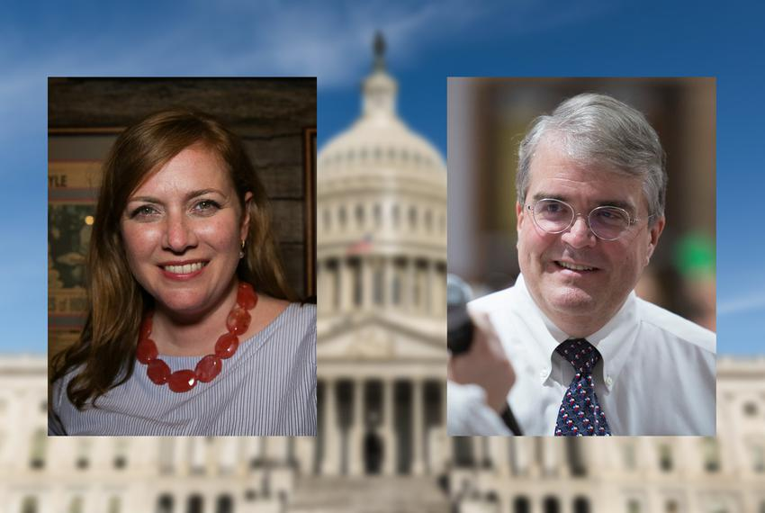 Democratic nominee Lizzie Panill Fletcher will face U.S. Rep. John Culberson, R-Houston, in November.