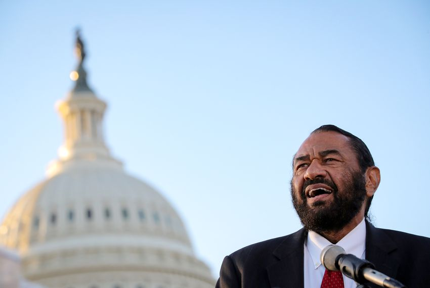 U.S. Rep. Al Green, D-Houston, has been trying to impeach the president for more than a year and a half.