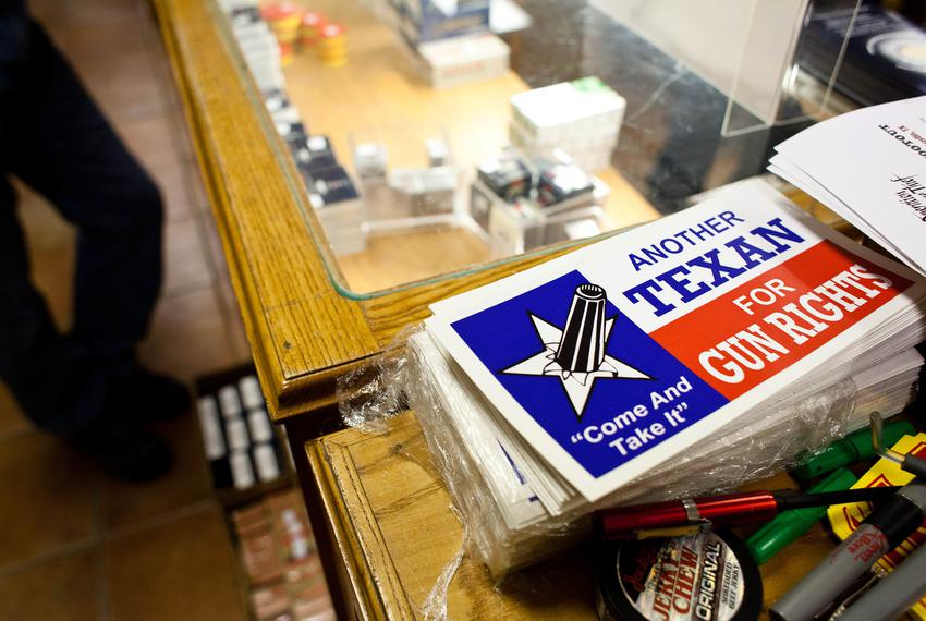 McBride's Gun Inc. in Austin on March 26, 2013.