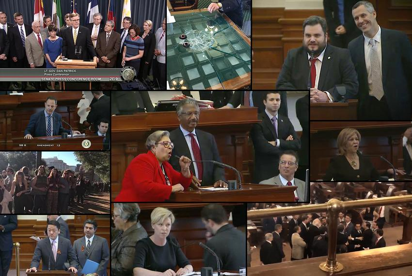 Jokes, tears and even fights — watch the highs and lows of the 85th Texas Legislature