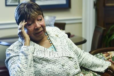 U.S. Rep. Eddie Bernice Johnson, D-Dallas, in her Washington, D.C. office on July 18, 2018.