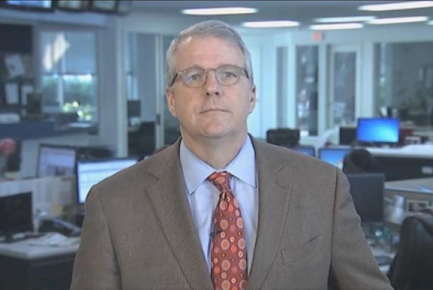 "Texas Tribune Executive Editor Ross Ramsey on WFAA-TV's ""Inside Texas Politics"" on August 31, 2014."