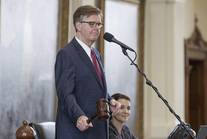 Lt. Gov. Dan Patrick gaveled out the 85th legislative session for the Texas Senate on May 29, 2017. Patrick hinted at a sp…