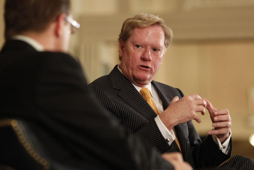 Jim Pitts talks Texas with Evan Smith at TribLive on January 13, 2011.