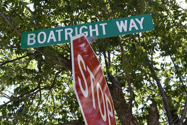 The circle drive leading up to the entrance of Rolling Plains Memorial Hospital in Sweetwater was renamed Boatright Way in honor of retiring CEO Donna Boatright June 12, 2020.