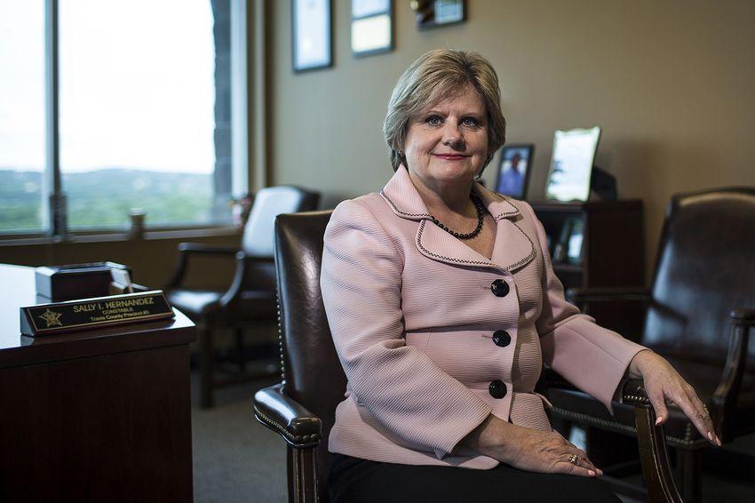 Travis County Sheriff Sally Hernandez.