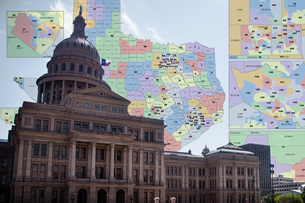 Federal Court Invalidates Part Of Texas Congressional Map The - Us house district 13 map